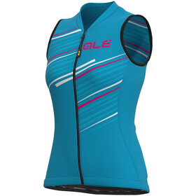 Alé Cycling Solid Flash SL Jersey Women, light blue